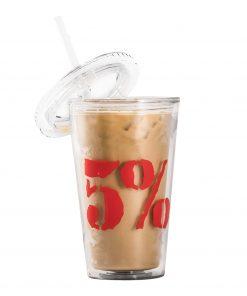 5% - Tumbler pohár