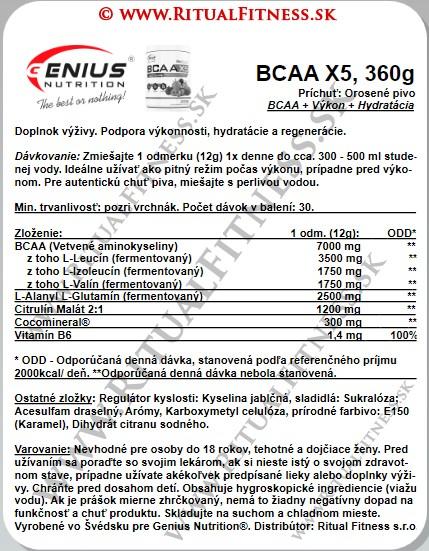 Genius BCAA X5