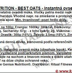 Genius Best Oats, 1kg, Chocolate