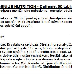 Genius Caffeine, 200tbl