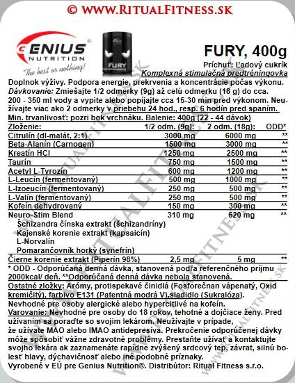 Genius FURY, 400g, Ice Candy