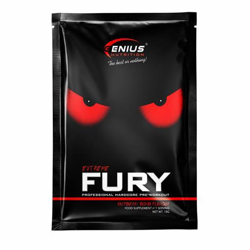 Genius Nutrition® – Fury Extreme vzorka