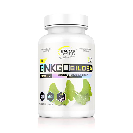 Genius Nutrition® Ginkgo Biloba