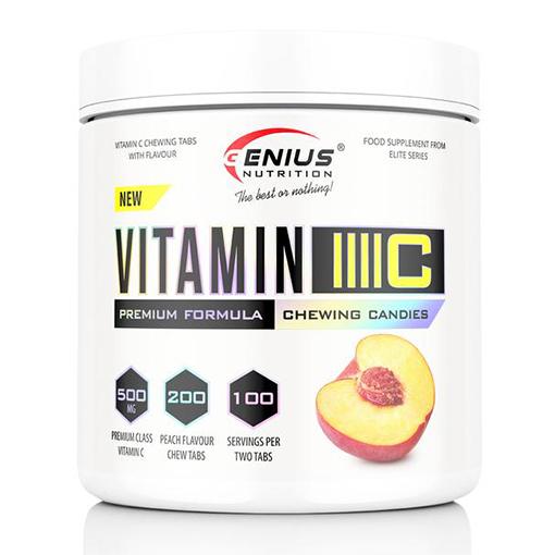 Genius - Vitamin C žuvacie