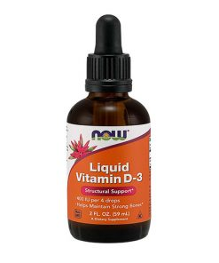 NOW - Liquid Vitamin D-3