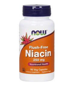 NOW - Niacin Flush Free (Vitamín B3)