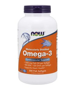 NOW - Omega-3 Distilled (vegetarian)