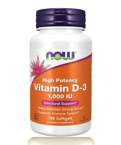 NOW Vitamin D3 1000 IU