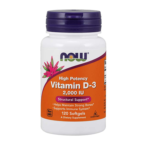 NOW - Vitamin D3 2000 IU