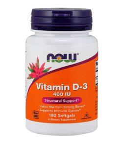 NOW - Vitamin D3 400 IU
