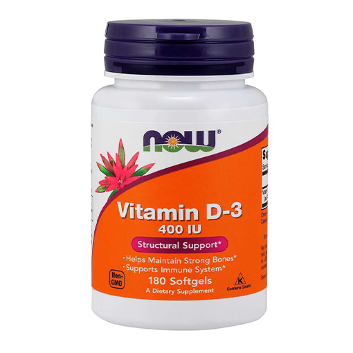 NOW Vitamin D3 400 IU