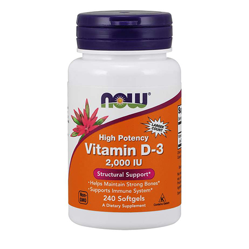 NOW - Vitamin D3 2000IU