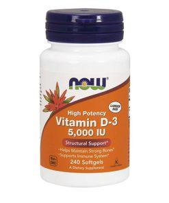 NOW - Vitamin D3 5000