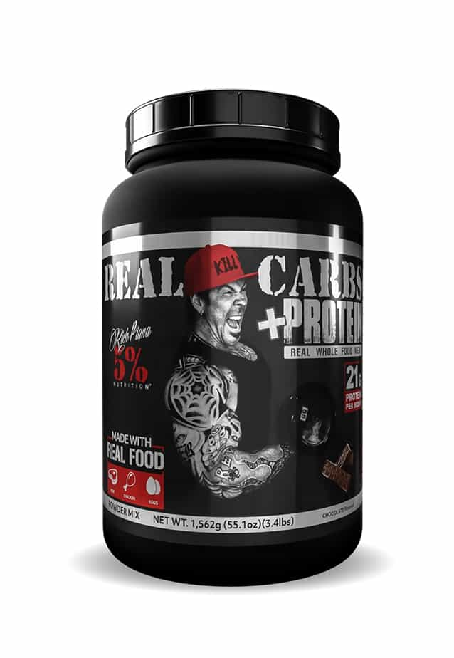 5% - Real Carbs + Protein