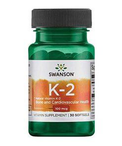 Swanson – Vitamín K2 (Menanchinon MK-7)