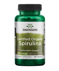 Swanson - Certified Organic Spirulina