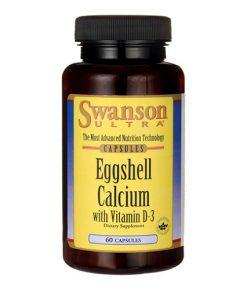 Swanson - Eggshell Calcium + D3