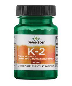 Swanson - Vitamín K2 (Menanchinon MK-7)