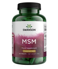 Swanson - MSM (Methylsulfonylmetan)