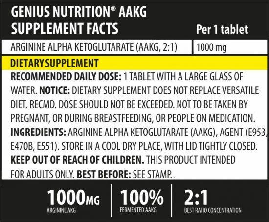 Genius - AAKG Arginine