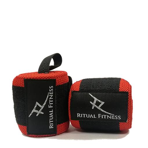 Ritual Fitness - Bandáže SOLID RED na zápästia 75cm