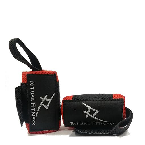 Ritual Fitness - Bandáže SOLID RED na zápästia 30cm