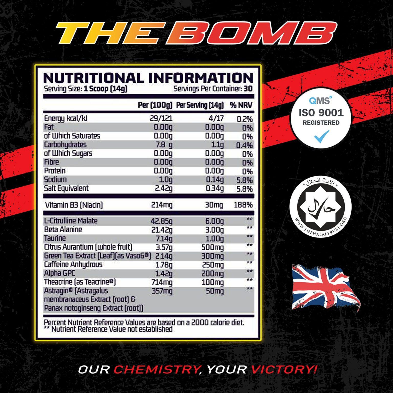 Chemical Warfare - BOMB