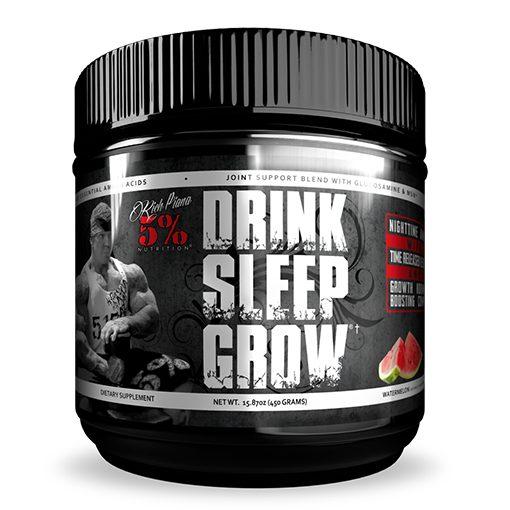 5% - Drink Sleep Grow