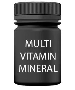 Multi vitamíny a minerály