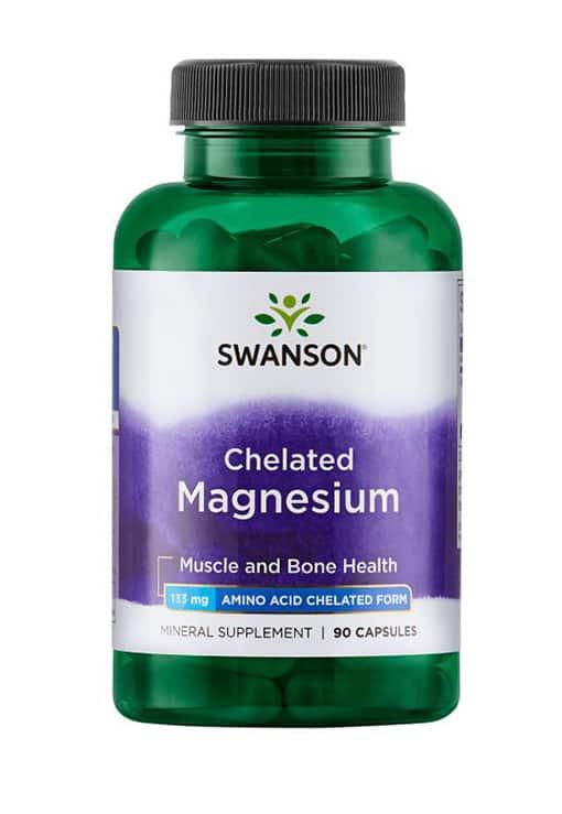 Swanson - Chelated Magnesium