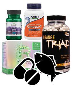 Vitamíny, Minerály, Zdravé tuky